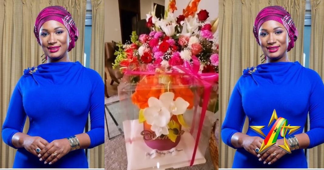 Samira Bawumia Receives A ' 'Special' Birthday Cake On Her Birthday Day