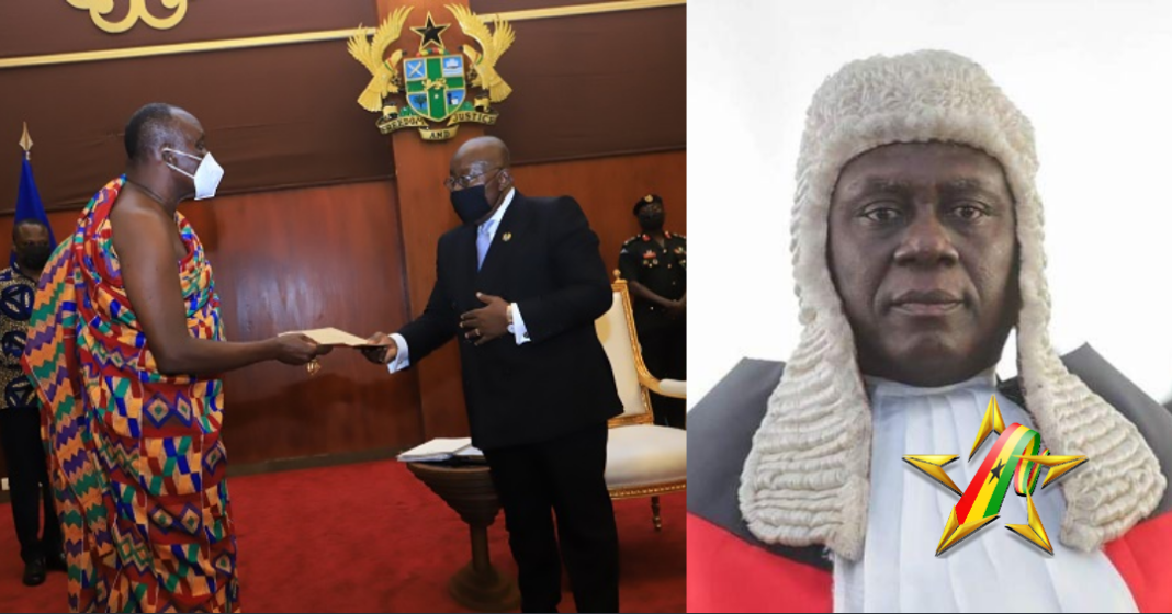 Council of State presents findings on GHS5m bribery allegations against CJ to President
