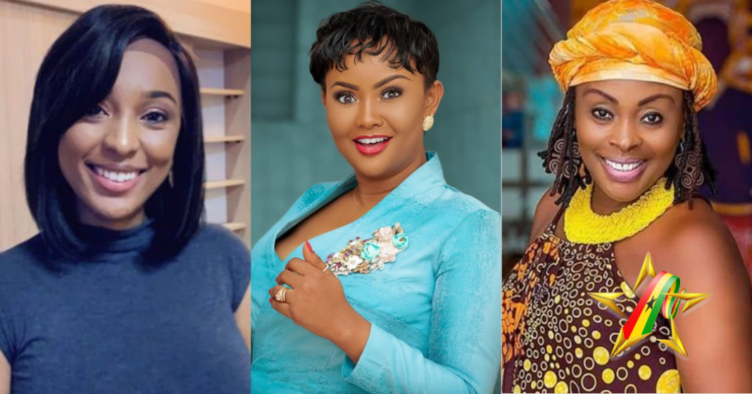 Beautiful Ghanaian celebrities who look younger than their ages