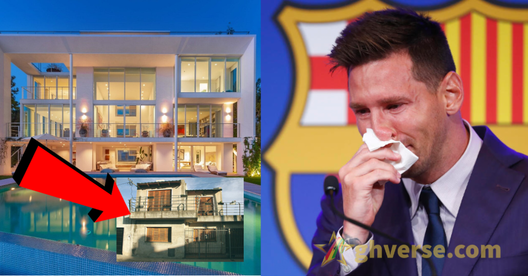 Messi's old house in Argentina vs his current $7m mansion in Spain