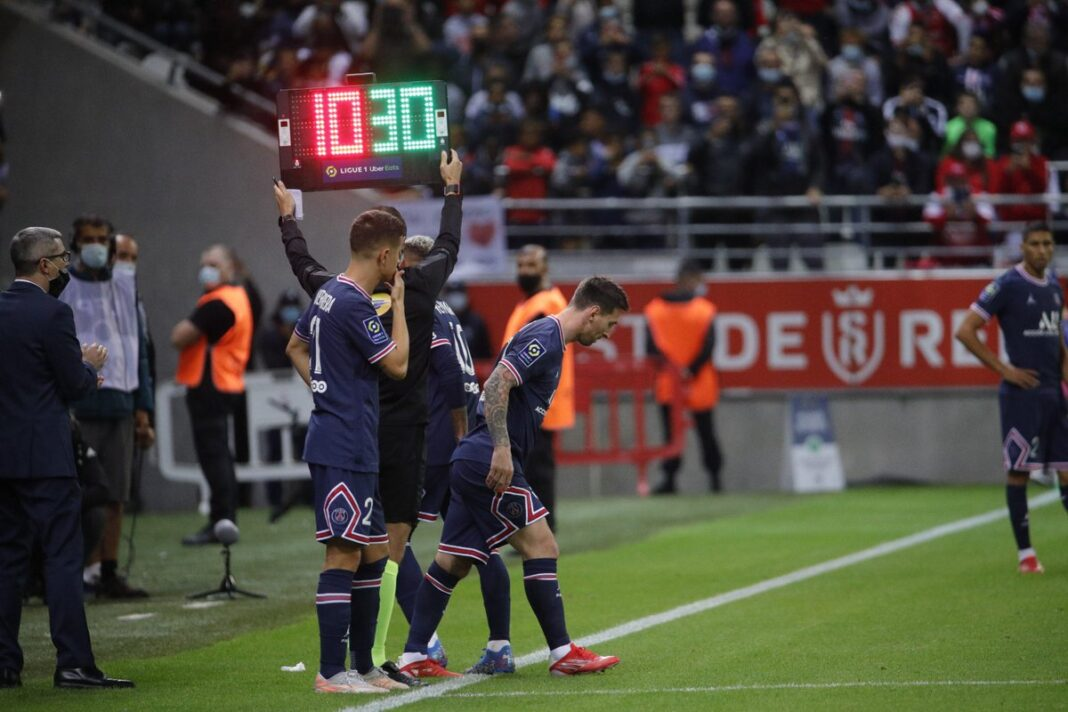 Messi Makes His Debut In Reims vs PSG Game, Ends 0 - 2 (Watch Recap)