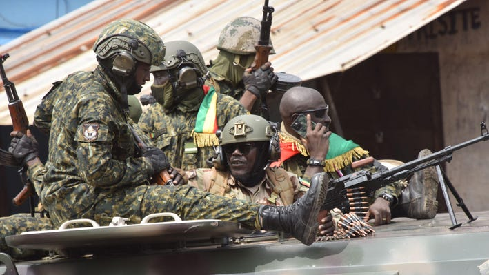 Guinea Coup: Army coup leaders summon Guinea ministers after Conde's ouster