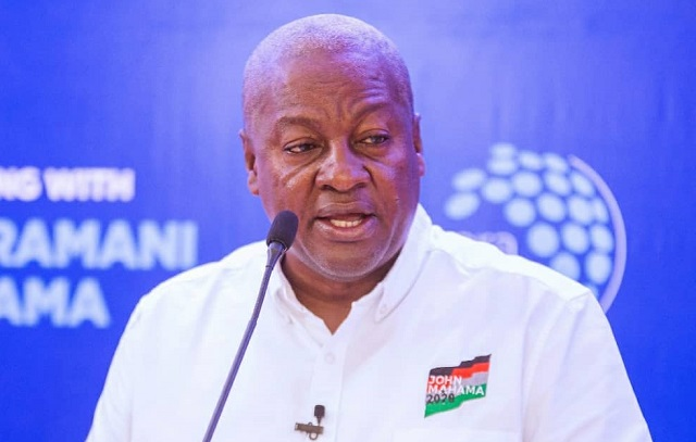Covid-19 has become whipping boy for your reckless economic management – Mahama to government